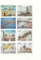 2013 Eritrea Links With China Block Of 8 Complete MNH Ports Camels Bridges Ships - Eritrea