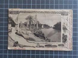 11860) Africa Portuguesa Alto Dande Uma Vista Do Rio /cansado Nas Margens, Falhas Na Película Da Imagem - Angola