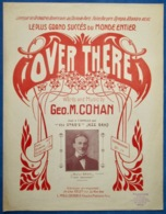 CAF CONC PIANO GF MILITARIA US PARTITION OVER THERE GEO COHAN APOLLO JAZZ BAND STAR'S 1917 BRUN [LILY OF THE VALLEY] - Musique & Instruments