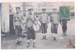 9460 Vietnam Cochinchine Tonkin Hanoi Tirailleurs Tonkinois Groupe De Tambours Et Clairons Mail Stamps Indo - Chine - Vietnam