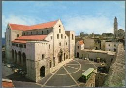 °°° Cartolina - Bari Basilica Di S. Nicola Viaggiata °°° - Bari