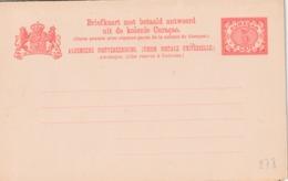 CURACAO : ENTIER (GEUZENDAM) Briefkaart 18 *** - Postwaardestukken