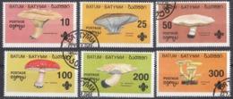 BATUM (Georgia) - 1994 - Serie Completa Usata Di 6 Valori Raffiguranti Funghi. - Géorgie
