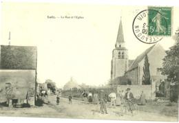 Lutz La Rue Et L ' église - Autres Communes
