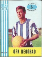 Sports > Soccer /Football - OFK Beograd ( Serbia ) Old Booklet - ( Photos,names, Match Schedule, Signature ) 1967/68 - Altri