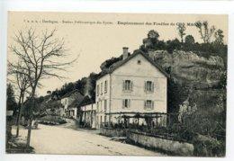 Les Eyzies Emplacement Des Fouilles De Cro Magnon - France
