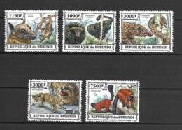 Burundi 2013 Endangered Animals MNH - Sonstige