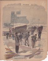 """Ce Ci N Est Pas Un Protège Cahier Mais Une Couverture De Cahier D'écolier (18x22) 4 Pages """"Paris"""" - Book Covers"""