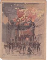 """Ce Ci N Est Pas Un Protège Cahier Mais Une Couverture De Cahier D'écolier (18x22) 4 Pages Coupé Au Milieu """"Paris"""" - Book Covers"""