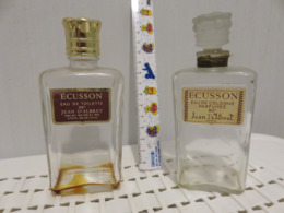 2 Flacons Ecusson Anciens - Bottles (empty)