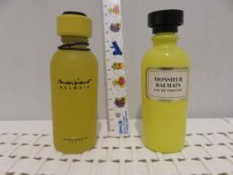 2 Flacons Balmain Anciens - Bottles (empty)