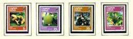 CAYMAN ISLANDS - 1987 Fruits Set Unmounted/Never Hinged Mint - Cayman Islands