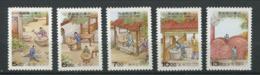 254 FORMOSE 1997 - Yvert 2287/91 - Art De La Porcelaine - Neuf ** (MNH) Sans Trace De Charniere - Ungebraucht