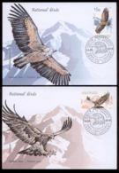 Abkhazia 2019 Europa SEPT National Birds 2FDC Only 100pcs - Autres - Europe