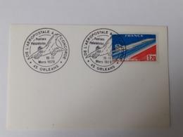 45 Orléans - De L'Aéropostale à Concorde - 1979 - Commemorative Postmarks