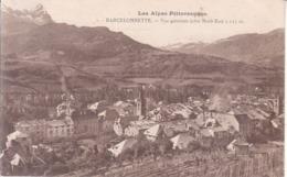 Barcelonnette - Vue Générale (côté Nord Est) - Barcelonnette