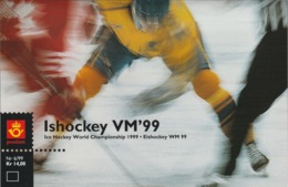 NORWAY 1999 World Ice Hockey Championship: Presentation Pack UM/MNH - Jockey (sobre Hielo)