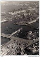 Carte Postale Afrique Maroc Casablanca  Le Port Docks Bd Du 4ièm Zouaves Vue D'avion Très Beau Plan - Casablanca