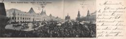 CPA à 2 Volets - Moscou. La Foire Des Rameaux - Russia