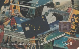 ALASKA - Montage Of Phonecards(P 01), Tirage 2500, 05/94, Mint - Schede Telefoniche