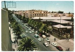 ERITREA/ETHIOPIA  - ASMARA AV. HAILE' SELLASSIE' I / OLD CARS / VW TRANSPORTER/COMBI - FIAT 600/1100/1300 - Eritrea