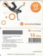 BULGARIA - Viva Com Prepaid Card 10 Leva, Sample - Bulgarie