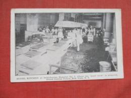 Kitchen  Debarkation Hospital  # 5      New York > New York City    Ref 3675 - Manhattan