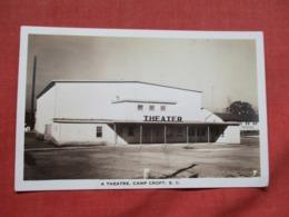 RPPC  Theatre  Camp Croft   South Carolina > Ref 3675 - United States