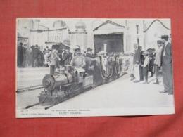 Miniature Railroad Dreamland Coney Island   Glitter Added New York > New York City   > Ref 3675 - Manhattan