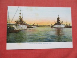 View Of Brooklyn Navy Yard Ref 3676 - Warships
