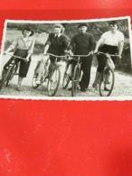PHOTO ORIGINALE _ VINTAGE SNAPSHOT : BICYCLETTE _ VELO RETRO _ SCENE De VIE - Ciclismo
