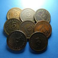 Portugal 8 Coins 5 Centavos 1921 - Münzen & Banknoten