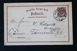 40820) DEUTSCHES REICH Ganzsache P 3A Gestempelt Aus 1873 - Deutschland