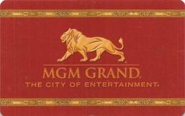 MGM Grand Casino - Las Vegas NV - Hotel Room Key Card - Hotel Keycards