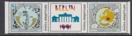 Albania 1992 - European Security Conference, Mi-Nr. 2493/94Zf., MNH** - Albania