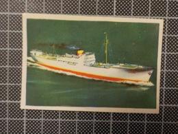 Cx 10 -3705) Cromo Portugal P/ Caderneta NAVIOS E NAVEGADORES #29 Marinha Mercante CANADÁ Ship Bateau - Trade Cards