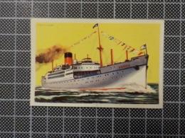 Cx 10 -3706) Cromo Portugal P/ Caderneta NAVIOS E NAVEGADORES #61 Marinha Mercante GOTICH Ship Bateau - Trade Cards