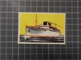 Cx 10 -3708) Cromo Portugal P/ Caderneta NAVIOS E NAVEGADORES #39 Marinha Mercante RAINHA DO PACIFICO Ship Bateau - Autres