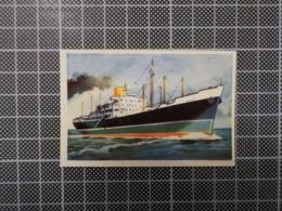Cx 10 -3709) Cromo Portugal P/ Caderneta NAVIOS E NAVEGADORES #77 Marinha Mercante OTAKI Ship Bateau - Trade Cards