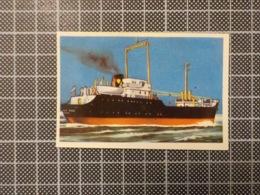 Cx 10 -3710) Cromo Portugal P/ Caderneta NAVIOS E NAVEGADORES #162 Marinha Mercante BALLYGALLY HEAD Ship Bateau - Trade Cards