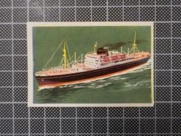 Cx 10 -3722) Cromo Portugal P/ Caderneta NAVIOS E NAVEGADORES #80 Marinha Mercante FERNANDO DE LESSEPS Ship Bateau - Trade Cards