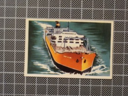 Cx 10 -3741) Cromo Portugal P/ Caderneta NAVIOS E NAVEGADORES #152 SPYROS NIARCHOS Ship Bateau - Cromo