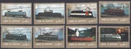 UMM AL QIWAIN - 1972 - Serie Completa Usata Di 8 Valori Di Posta Aerea Michel 1218A/1225A. - Umm Al-Qaiwain