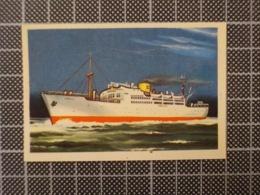 Cx10 -3767) Cromo Portugal P/ Caderneta NAVIOS E NAVEGADORES #54 VIRGINIA DE CHURRUCA Ship Bateau - Trade Cards