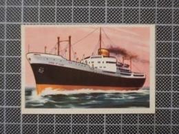 Cx10 -3771) Cromo Portugal P/ Caderneta NAVIOS E NAVEGADORES #43 CIDADE DE TOLEDO  Ship Bateau - Trade Cards