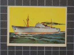Cx10 -3780) Cromo Portugal P/ Caderneta NAVIOS E NAVEGADORES #156 FRANCHINA FASSIO  Ship Bateau - Trade Cards