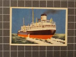 Cx10 -3788) Cromo Portugal P/ Caderneta NAVIOS E NAVEGADORES #158 HAUSTELLUM Ship Bateau - Trade Cards