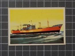 Cx10 -3790) Cromo Portugal P/ Caderneta NAVIOS E NAVEGADORES #97 HOEISAN MARU Ship Bateau - Trade Cards