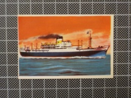 Cx10 -3800) Cromo Portugal P/ Caderneta NAVIOS E NAVEGADORES #66 CITY OF YORK Ship Bateau - Trade Cards