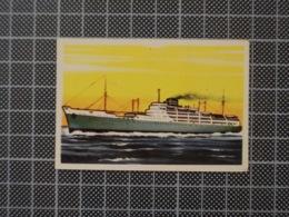 Cx10 -3804) Cromo Portugal P/ Caderneta NAVIOS E NAVEGADORES #42 HUESCA Ship Bateau - Trade Cards